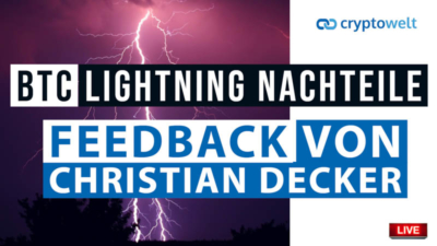 Lightning Christian Decker