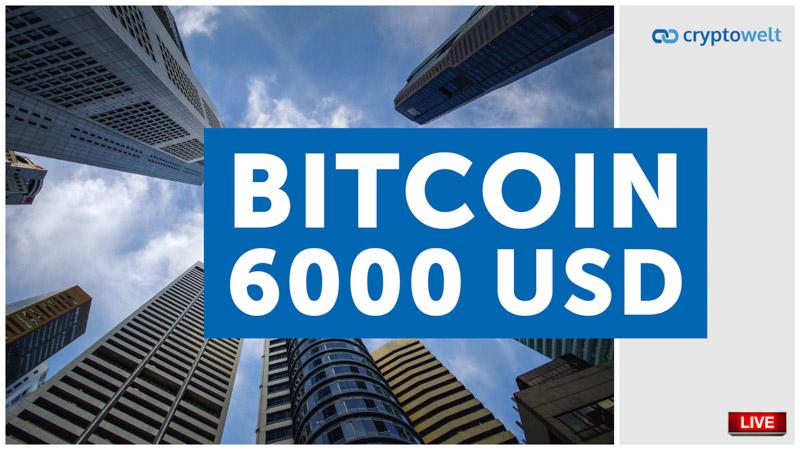 Bitcoin 6000 USD