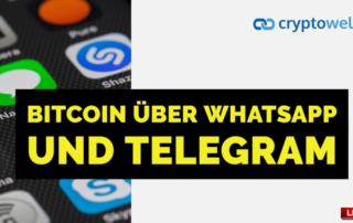 Bitcoin Whatsapp Telegram