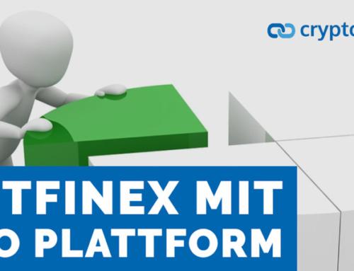 Bitfinex startet IEO-Plattform Tokinex