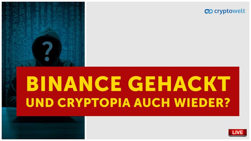 Hack Binance Cryptopia