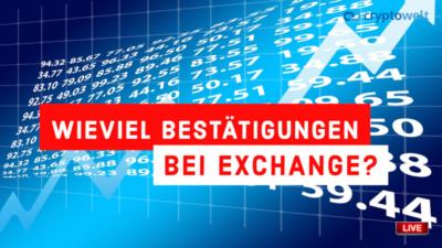 Bestätigungen Exchange