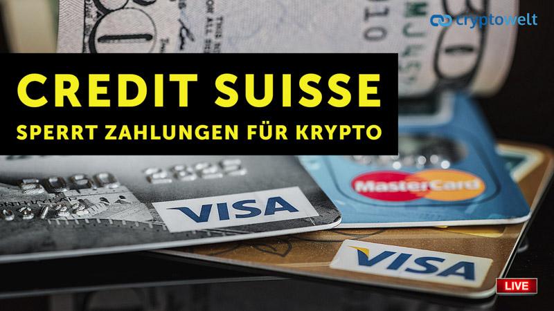 Credit Suisse Kreditkarte
