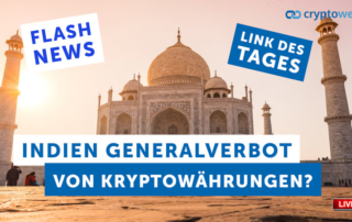 Indien Kryptoverbot