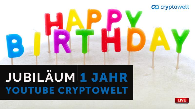1 Jahr Cryptowelt