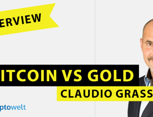 Interview mit Claudio Grass – Bitcoin vs Gold